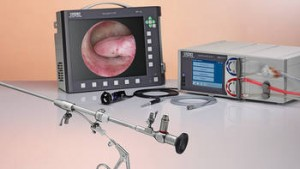 Solutions for office hysteroscopy